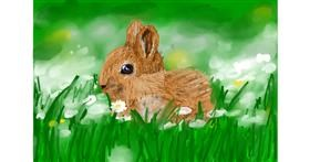 Bunny drawing by Soaring Sunshine