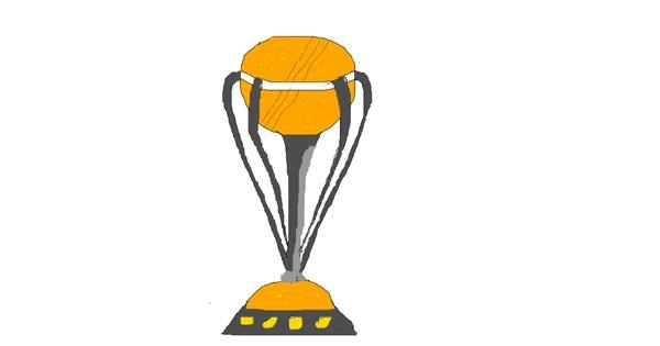 Trophy drawing by Painter