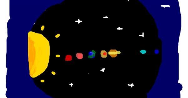 Telescope drawing by Dogemaster