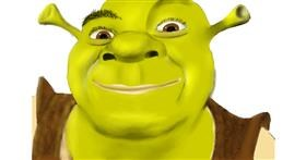 Drawing of Shrek by Wizard