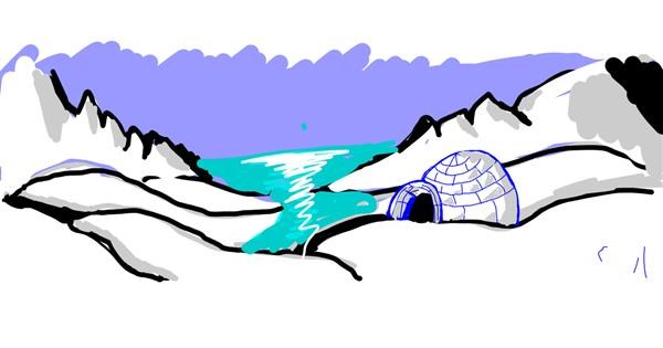 Igloo drawing by ?