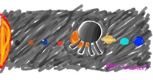 Satellite drawing by uwu