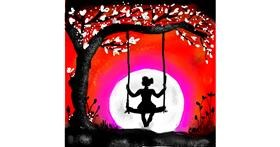 Swing drawing by Dream