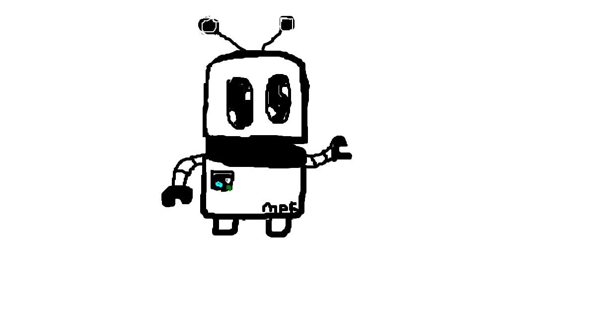 Drawing of Robot by MPK