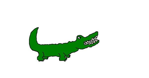 Alligator drawing by cheesy monkey 🐵