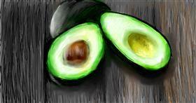 Drawing of Avocado by Soaring Sunshine