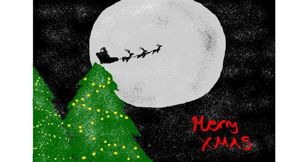Sleigh drawing by christine