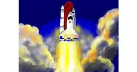 Rocket drawing by SAM AKA MARGARET 🙄