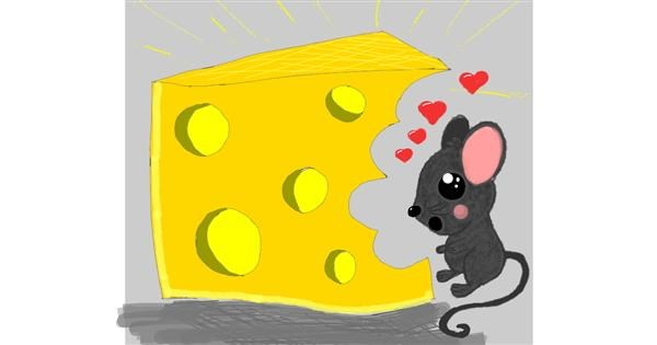 Cheese drawing by Zerous 👩🎤