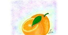 Drawing of Orange by Nonuvyrbiznis