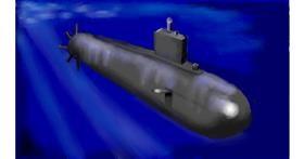 Submarine drawing by SAM AKA MARGARET 🙄