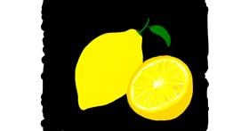 Lemon drawing by Ashley