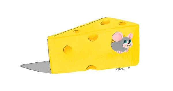 Cheese drawing by smol