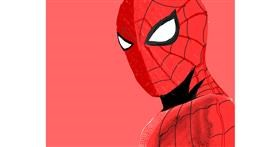 Spiderman drawing by Yashi 🐢