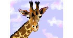 Drawing of Giraffe by SAM AKA MARGARET 🙄