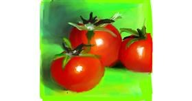 Tomato drawing by Ankita Sharma