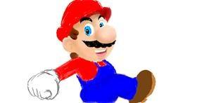 Super Mario drawing by Klau 🌻