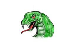 Snake drawing by hahah
