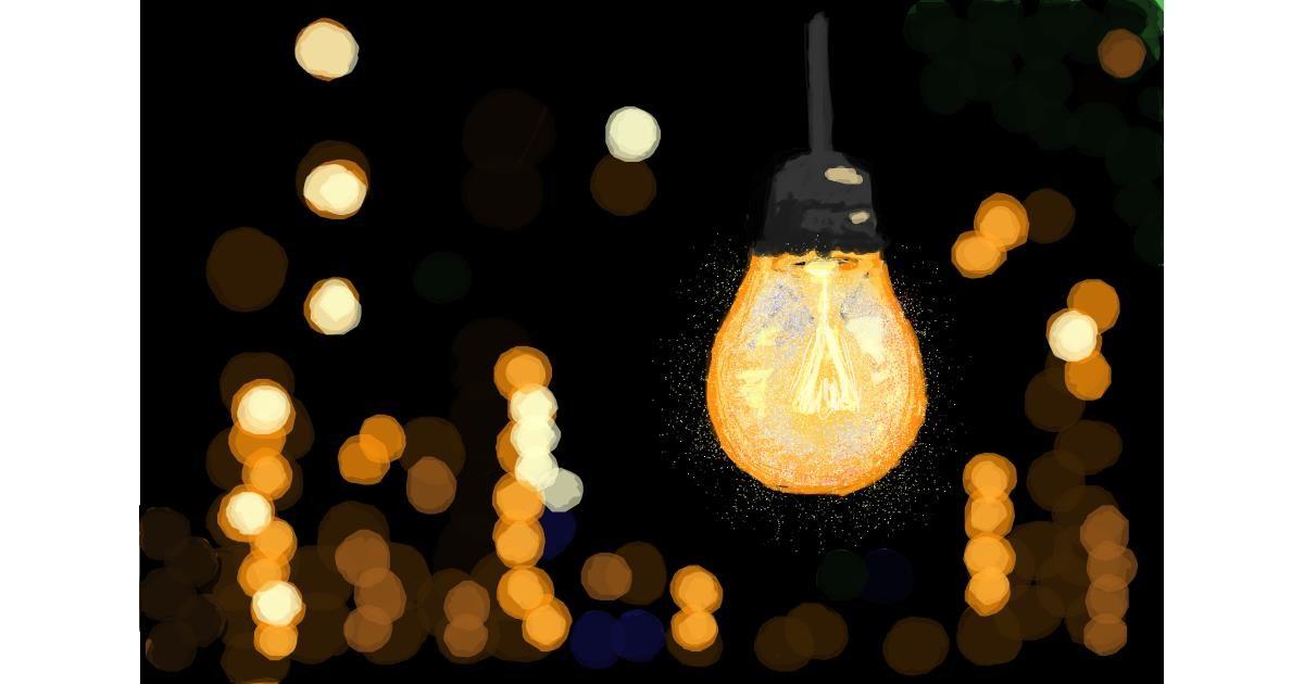 Light bulb drawing by smackerel