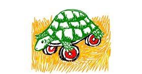 Tortoise drawing by Jjj player