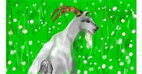Drawing of Goat by SAM AKA MARGARET 🙄