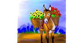 Drawing of Donkey by 🌏rhythm💐