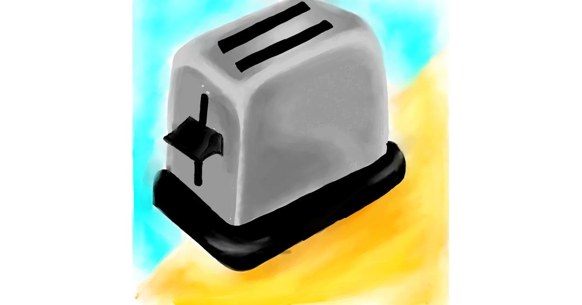 Toaster drawing by Nishita