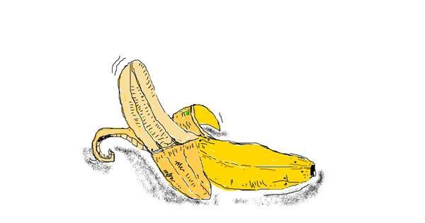 Banana drawing by Chloe