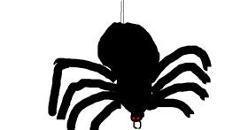 Spider drawing by glory