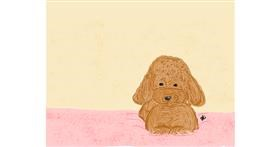 Poodle drawing by gLorIA