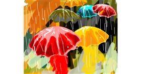 Drawing of Umbrella by Bro 2.0😎