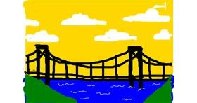 Bridge drawing by Anonymous