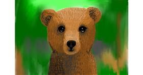 Bear drawing by Lollipop🍭