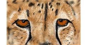 Drawing of Cheetah by Humo de copal