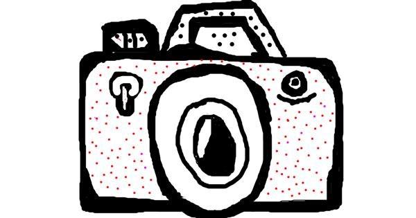Camera drawing by Anita