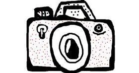 Drawing of Camera by Anita