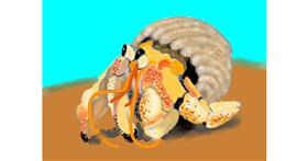 Crab drawing by SAM 🙄