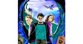 Harry Potter drawing by Rose rocket
