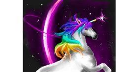 Drawing of Unicorn by Jac