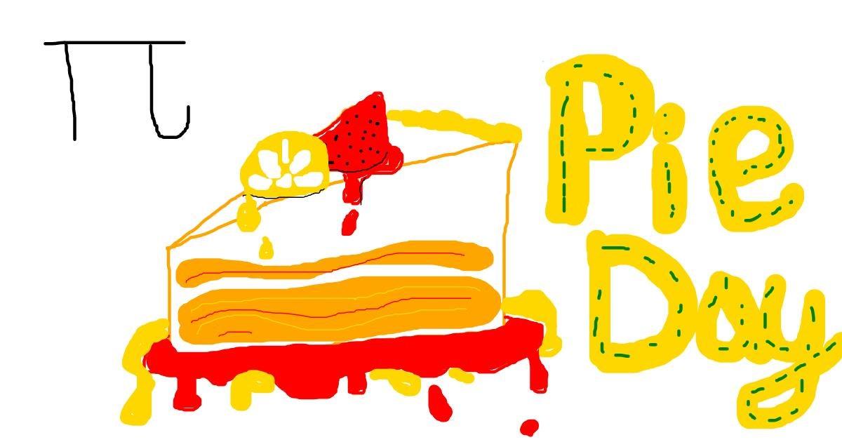 Drawing of Pie by KaiDIe