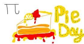 Pie drawing by KaiDIe