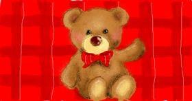 Bear drawing by Paranoia
