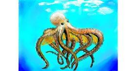 Octopus drawing by SAM AKA MARGARET 🙄