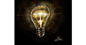 Light bulb drawing by Nonuvyrbiznis