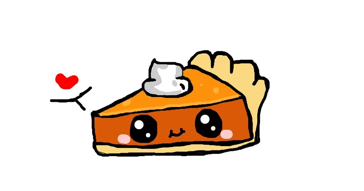 Drawing of Pie by cutypuky 0w0