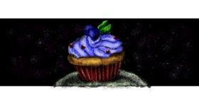 Muffin drawing by Rei