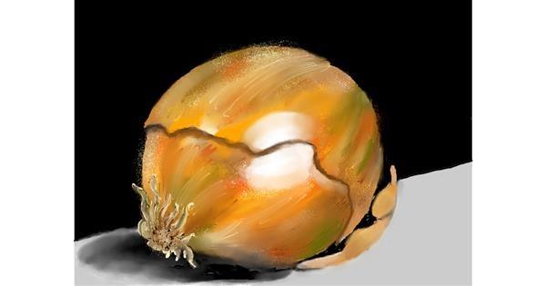 Onion drawing by SAM 🙄AKA Margaret