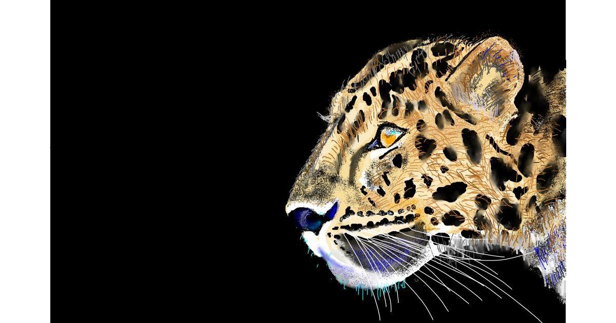 Cheetah drawing by GJP