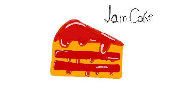Cake drawing by Gabi