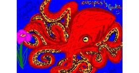Octopus drawing by 🍭Cαɳԃყ Sɳαƙҽ🐍